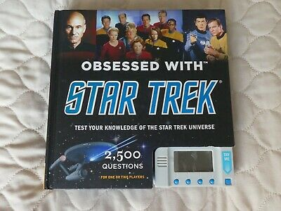 Star Trek Test Your Knowledge; 2,500 Questions