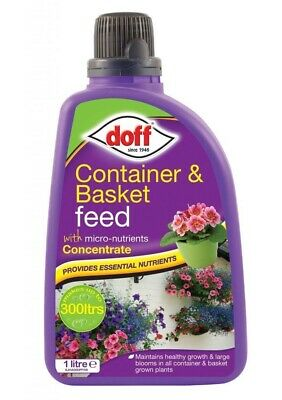 Container & Basket Plant Feed Concentrate 1L Makes Up To 300L Liquid Food Doff