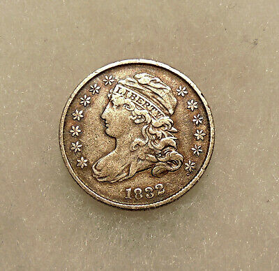 1832 Capped Bust Dime - Sharp Looking Coin - FREE SHIPPING