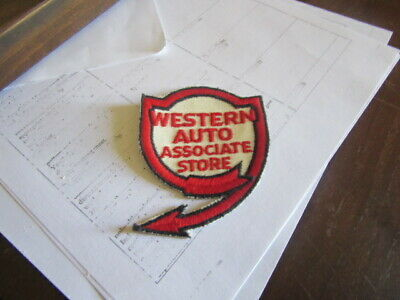 Western Auto Patch / New Old Stock of Closed Embroidery Company / FREE Ship