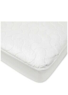 American Baby Quilted Crib Mattress Protector Cover Waterproof - Brand New