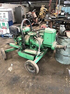Selwood 3 Inch Water Pump Twin Cylinder Lister Petter Engine