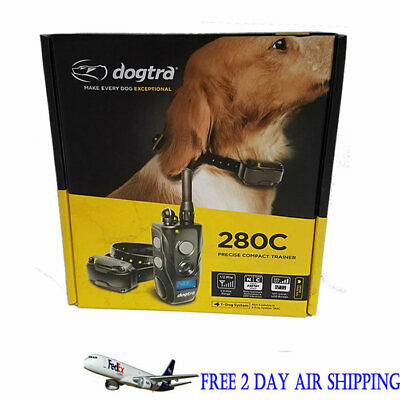 Dogtra 280C Remote Dog Training Collar 1/2 Mile Rechargeable