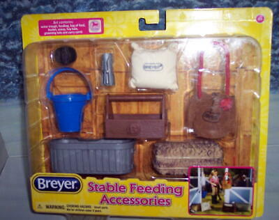Breyer Horse Stable Feeding Set # Traditional Size #61075 ( New In Package)
