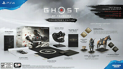 PS4 - Ghost of Tsushima - Collector's Edition - Limited