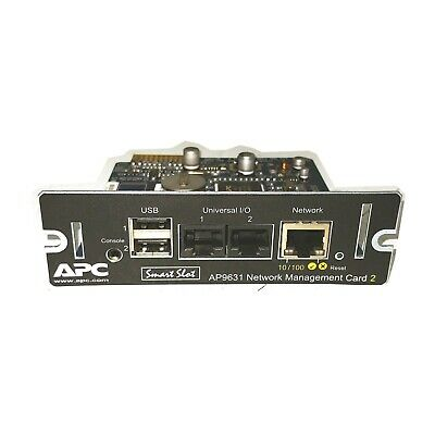APC Smart-UPS Network Management Card 2 NMC with EM Smart-Slot Card AP9631