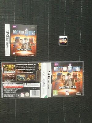 🌟DOCTOR WHO DR DW🌟NINTENDO DS🌟LITE🌟DSi🌟XL🌟COMPLETE🌟FAST UK🇬🇧POSTAGE🌟