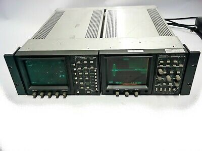 Tektronix 1735 HD & WFM 601A  Waveform Monitore         jh
