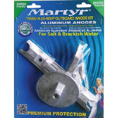 Martyr Anodes CMY6090KITA Anode-Yam 60-90 Hp Ob Al