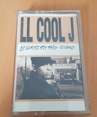 LL Cool J ‎– 14 Shots to the Dome Kassette Hiphop