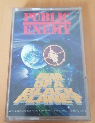 Public Enemy-Fear of a black Planet Kassette Hiphop