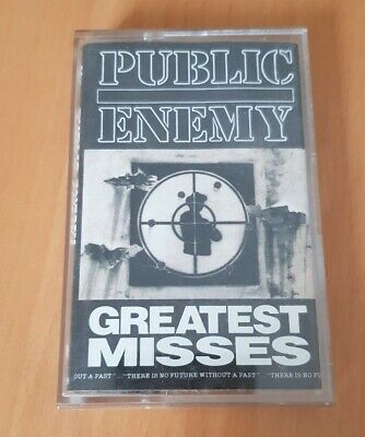 Public Enemy-Greatest Misses Kassette Hiphop