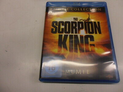 Blu-Ray       Scorpion King 4 Movie Collection [4 Discs]