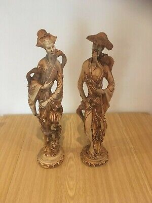 Pair of Chinese resin figures 1940 ?