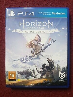 Horizon: Zero Dawn (Sony PlayStation 4, 2019, Complete Edition) PS4
