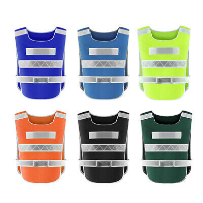 EY_ Ultra Light Mesh Reflective Vests Night Running Cycling Safety Warning Waist