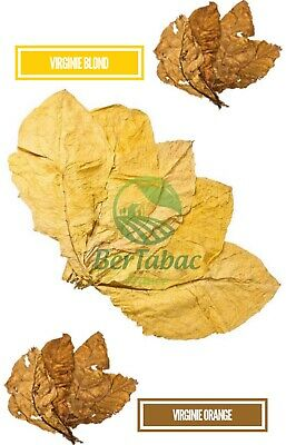 Feuilles De Tabac Virginie Blond / Virginie Orange 2Kg