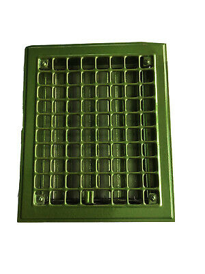 Vintage Cast Iron Powder Coated Grate