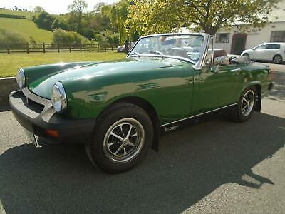 1979 Mg Midget 1500 Only 55,600 Miles Stored For Over 25 Years