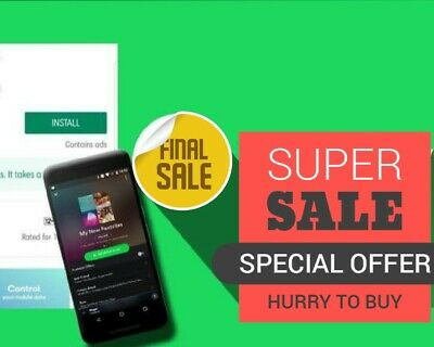 Spotify, Premium Android Only Instant Delivery