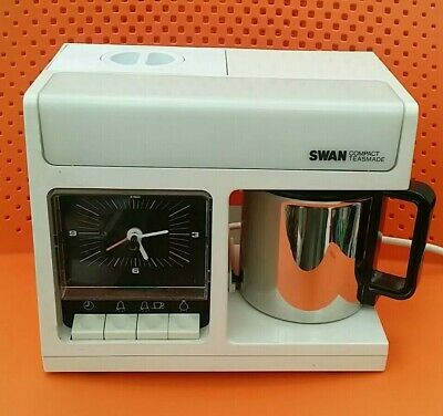 Swan Compact Teasmade Serial No 10883  - Fab Condition