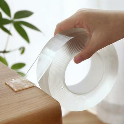 Transparent Magic Nano Tape Washable Reusable Double-Sided Tape Adhesive