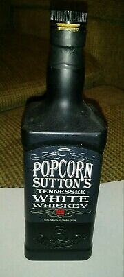 Popcorn Sutton Tennessee White Whiskey rare Empty signed by Pam sutton his wife!