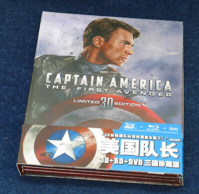 Captain America - The FIrst Avenger (blu-ray) Digibook - RARE