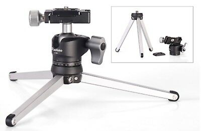 Leofoto Mini Table Travel Tripod Kit with Head MT-01 & LH-25