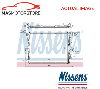 Engine Cooling Radiator Nissens 65275A P New Oe Replacement