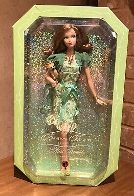Birthstone Beauties Miss Peridot August 2007 Barbie Doll NRFB
