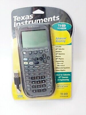 Texas Instruments TI-89 Titanium Graphing Calculator USB NEW SEALED