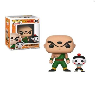Funko Pop! Animation Dragon Ball Z, Tien And Chiaotzu #384, In Stock!