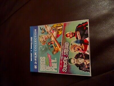 Birds Of Prey: Harley Quinn + Suicide Squad Blu-ray with slipcover NO DIGITAL3