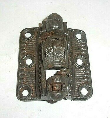 Antique Cast Iron East Lake Spring Loaded Screen Door Hinge 3 X 2 1/2. Pat. 94.