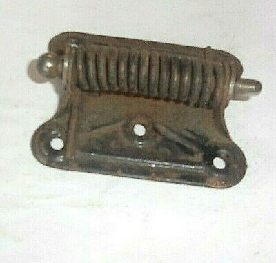 C. 1940'S Steel Spring Loaded 3 X 2 1/2 In. Screen Door Hinge. Good Shape. U. S.