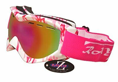 Rayzor Professional UV400 Double Lensed Ski / SnowBoard Goggles, With a Matt