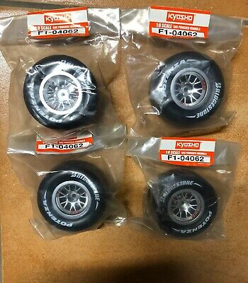 4 Gomme Kyosho F1 2004/2005 1:8