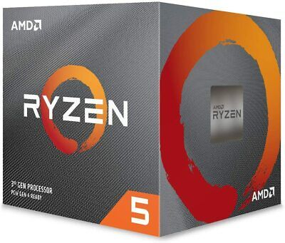 AMD Ryzen 5 2600 CPU with Wraith Cooler, AM4, 3.4GHz (3.9 Turbo), 6-Core,
