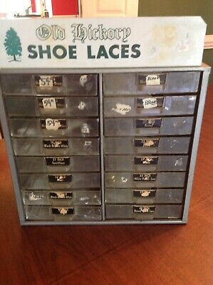 1940/'s A-Kamil-ide Shoe Lace Display Card with Shoe Laces