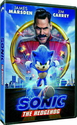 Sonic The Hedgehog NEW DVD 2020 PRE-ORDER SHIPS 05/19/2020