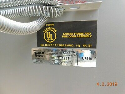 JL Industries Fire Rated Access Door - 24 x 36   NO SHIPPING!!