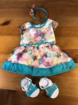 American Girl Bright Blooms Dress Floral Outfit