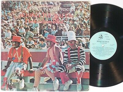 The Eastham Band - Behind the Walls LP Texas Prison Rodeo Funk Soul R&B