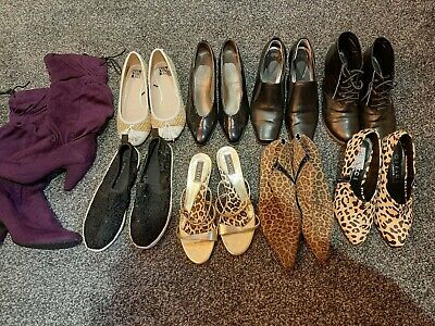 women's shoes size 5, job lot of 9 pairs
