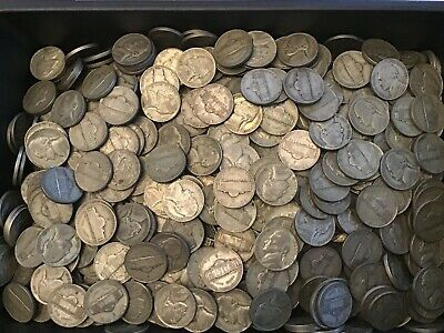 2$ (40) Roll 1942-1945 35% Jefferson War Silver Nickel