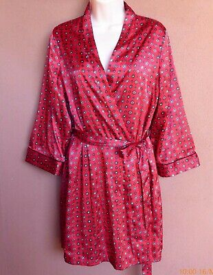 In Bloom by Jonquil SATIN Robe, SZ M