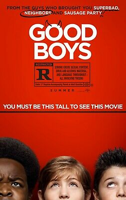 Good Boys HDX Vudu Instawatch Digital. No Disc