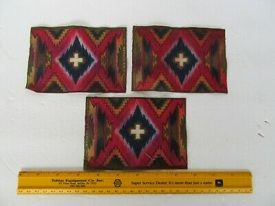 (3) Antique 1910's District of New York  Tobacco Cigar Box Cigarette Felts