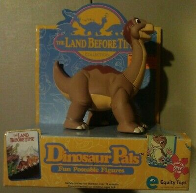 The Land Before Time Dinosaur Pals Little Foot Figure New in Box 1996